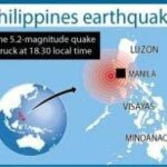 Moderate 5.2-quake hits Philippines