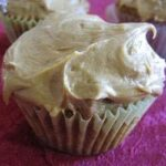 Brown-Sugar-Caramel Frosted Cupcakes