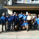 APOGLA volunteers for Habitat For Humanity