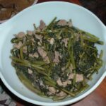 Adobong Kangkong from grandma's kitchen