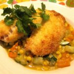Delicious 'Tilapia With Vegetables A La Coconut Milk' recipe