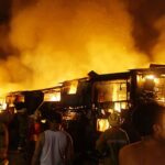 10,000 lose homes in Philippines slum blaze