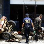 Five dead in blast outside Philippine school