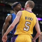 Five players ejected as Lakers beat the Mavs