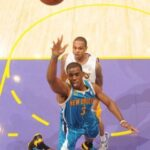 Chris Paul takes over as Hornets shock Lakers in Game 1