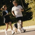 Dogs encourage owners to get up, get out and get moving