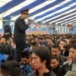 China's massive holiday migration begins