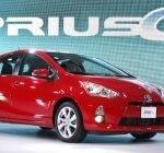 The 2012 Toyota Prius C hybrid is introduced during a press preview at the North American International Auto Show at the COBO Center January 10, 2012 in Detroit, Michigan. ©Bill Pugliano/Getty Images/AFP