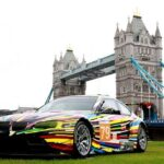 BMW shows off its art cars in London