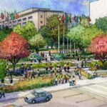 "Los Angeles County's ""Grand Park"" to be opened on July 26, 2012"
