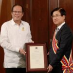 Aquino confers Order of Sikatuna on outgoing Ambassador of Korea