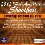 Registration now ongoing for Fil-Am Mason Shootfest
