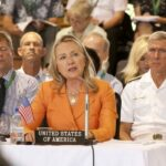 "Clinton warns against ""coercion"" in South China Sea"