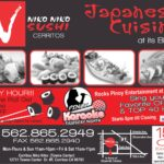 Pinoy karaoke night at Niko Niko Sushi Cerritos on Thursdays