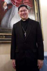 Manila Archbishop Luis Antonio Tagle (MNS photo)