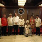 Aquino cites contributions of the year's 'Gawad sa Manlilikha ng Bayan' awardees to national advancement