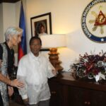 IMF chief Lagarde praises PH gov't for strong economy