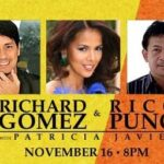Get free tickets to see Richard Gomez, Rico Puno and Patricia Javier at Pechanga