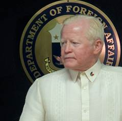 Ambassador Jose L. Cuisia, Jr., (Philippine Embassy photo)