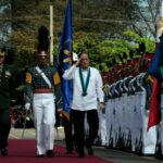 President Aquino leads awarding rites honoring soldiers and civilian employees of Armed Forces of the Philippines on its 77th anniversary