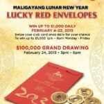 "Pechanga Resort & Casino give away $100,000 ""Lucky Red Envelope"" for Lunar New Year"