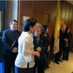 PHILIPPINE CONSULATE ATTENDS WAKE OF WW II WAR HERO AND GUERILLA LEADER LT. COL. EDWIN PRICE RAMSEY
