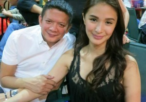 Heart Evangelista and Sen. Chiz Escudero (MNS photo)