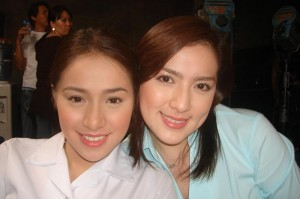 Cristine Reyes and Ara Mina (MNS Photo)