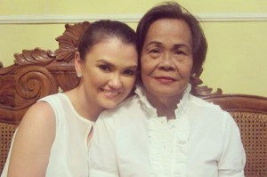 Melania David Panganiban and Angelica Panganiban. (MNS photo)