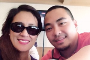 Ai Ai delas Alas and Jed Salang (MNS photo)