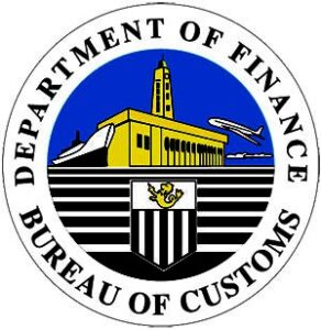(Bureau of Customs logo)