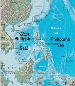 West Philippine Sea Map