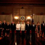 President Aquino welcomes non-resident ambassadors to the Philippines