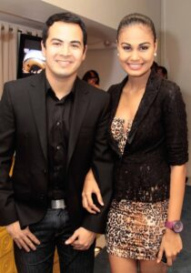 Andrei Felix and Venus Raj (MNS Photo)