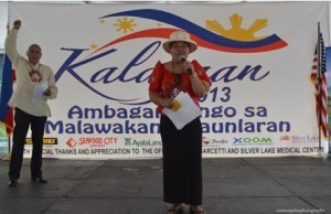 photo shows Consul General Maria Hellen M. Barber-De La Vega delivering her opening remarks.