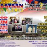 PHILIPPINE CONSULATE GENERAL, DOT AND FILIPINO COMMUNITY ORGANIZATIONS GEAR UP FOR 08 JUNE 2013 KALAYAAN CELEBRATION AT HISTORIC FILIPINOTOWN