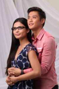 ROCCO Nacino and Lovie Poe (MNS Photo)