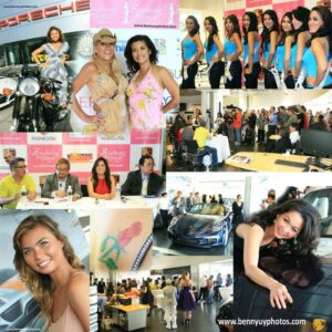 A collage of Binibining Pilipinas USA beauty pageant finalists, organizers and activities. Photo collage: Benny Uy