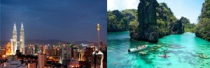 From the towering Petronas in Kuala Lumpur to the pristine lagoons of Palawan the tour packages for six nights in less than $2,000 are a bargain that include hotel accommodations, travel and hotel transfers, admission fees and breakfasts. For more information about these tours, please call 310-327-5143 or 714-202-8690 or you may visit www.travelinternational.net.