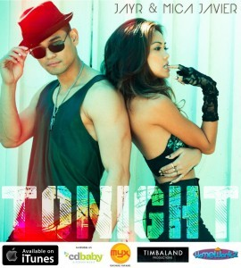 "JayR's current single, ""Tonight,"" a duet with Mica Javier"