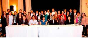 Photo above shows seated (L-R) Mapagmahal Foods' Representative Nandy Esguerra, TamCor's Tony Ang, Consul General Maria Hellen Barber De La Vega, DAR Asst. Secretary Allan Umali, DTI Rep. Jojie Dinsay, PHL Embassy Agriculture Attaché Josefine Javelosa with representatives of the 18 participating companies in the Agri-Business Mission.