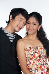 Jason Francisco and Melai Cantiveros (MNS Photo)