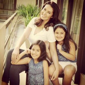 Ruffa Gutierrez and daughters, Lorin & Venice (MNS Photo)