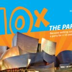 "The Music Center invites the community to ""10 Times the Party,"" free public block party celebration for Walt Disney Concert Hall's 10th Anniversary"
