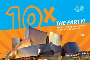 10th anniversary of The Music Center's Walt Disney Concert Hall (WDCH)
