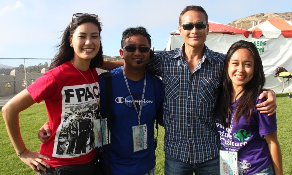 Marketing Team with Iron Chef America and Hawaii Five-O star Mark Dacascos