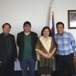 "Director Erik Matti of the Cannes Selection Film ""On the Job"" pays courtesy call on Consul General De La Vega"