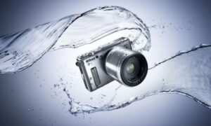 The Nikon One-Series AW1 Available in white, black or silver, the camera is waterproof, shock and freeze-resistant. ©Nikon