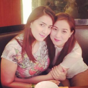 Ara Mina and Cristine Reyes (MNS Photo)