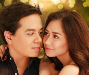 John Lloyd Cruz and Sarah Geronimo (MNS Photo)